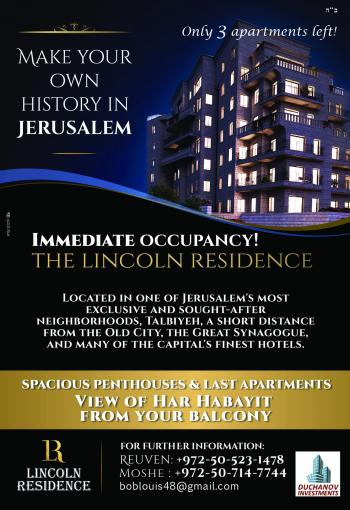 Real Estate in Jerusalem by Duchanov Investments