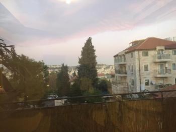 For Rent in Jerusalem 4 Room Apartment on Elisha St.