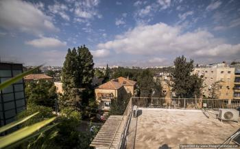 For Sale  in Jerusalem a Roof Apartment/Terrace Off the Living Room/HaRav Haim Berlin St, Rechavia,