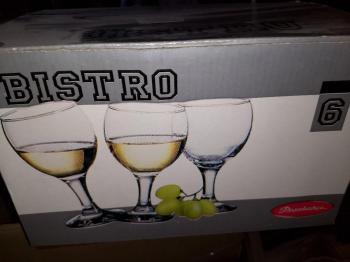 Pack of 6 wine glasses