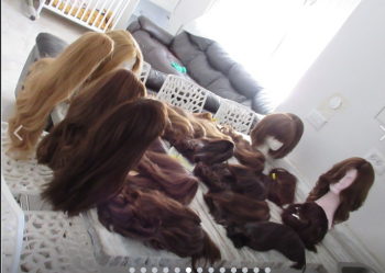 Unbeatable prices on NEW european wigs. Special One-time sale! All lengths, all styles
