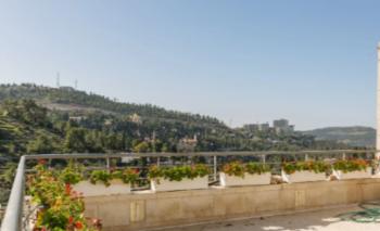 For Sale in Jerusalem in Ein Karem a 12 Room Villa