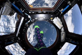 Astronaut Jessica Meir tweets Hanukkah message from space