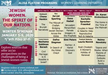 Women's Learning Jan. 5-9