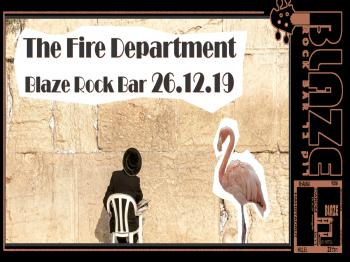 The Fire Department Live at Blaze Rock Bar