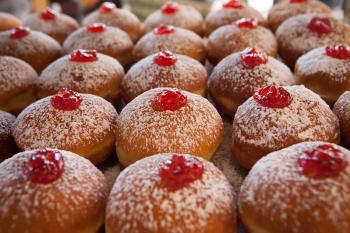 Jerusalem's needy residents vote for their favorite doughnut
