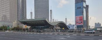 New high-rise planned by Tel Aviv's Hashalom Station