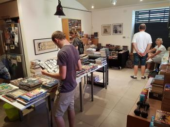 Twelfth bi-annual second-hand book sale in the German Colony.