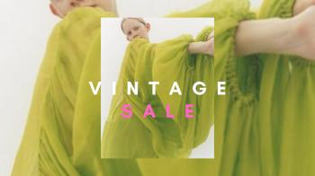 Vintage Sale!
