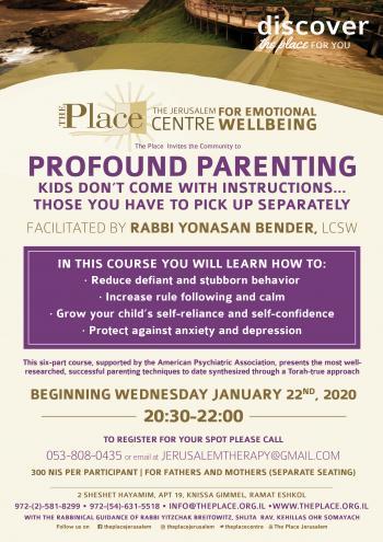 Profound Parenting