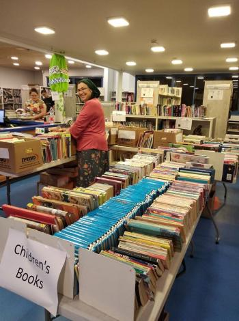 HUGE Used Book Sale January 18-19 at the Benjamin Library in Beit Shemesh!!