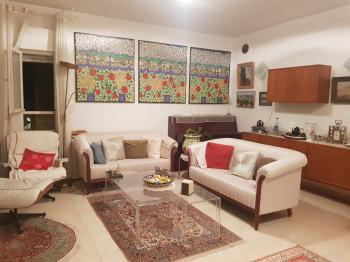 Fully Furnished 2 Bedroom & Living Room For 5500 Shekels Inc Water & Electricity!