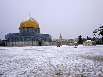 Snow in Jerusalem?