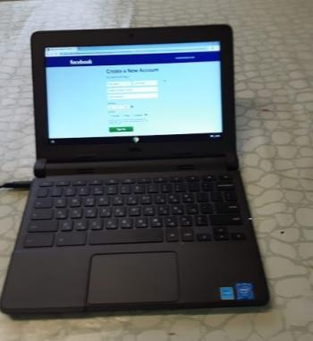 DELL 4GB 16GB SSD Laptop