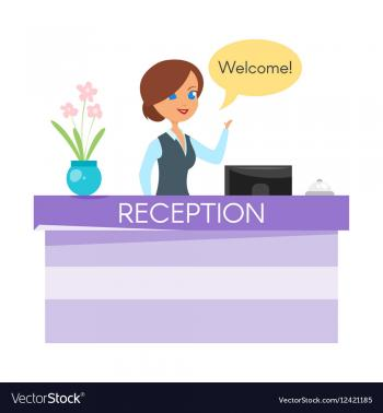 Receptionist for a Boutique Hotel