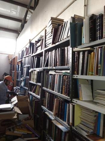 30,000 Volume Jewish Library for sale