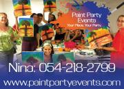 Paint Party Events: We Bring the Painting Party to YOU!
