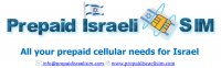 Israel Prepaid SIM Cards and TopUP service - Free Shipping