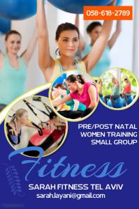 Personal Training for women, pre-post natal and small groups