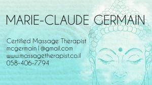 Marie-Claude Germain Massage therapist