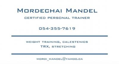 Certified personal trainer, start feeling healthy again!