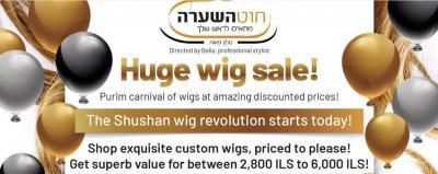 Huge Wig Sale