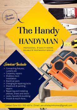 The handy handyman