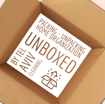PACKING - UNPACKING - DECLUTTERING - HOME ORGANISING - UNBOXED FOR YOU