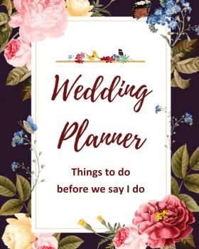 The wedding/event planner