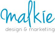Malkie Graphics web design, logos, print